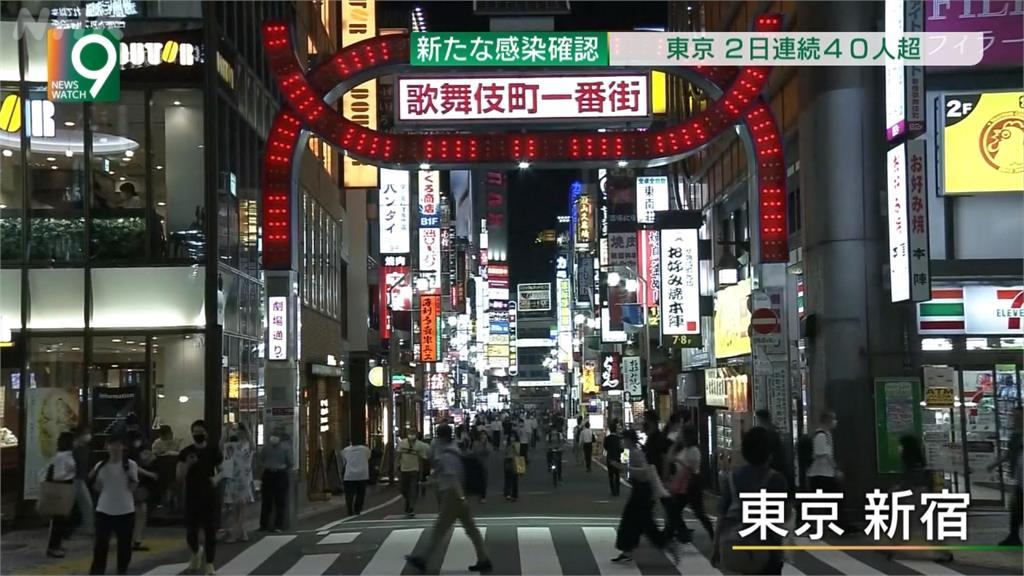 東京日增48病例 19日照常解除跨縣移動管制
