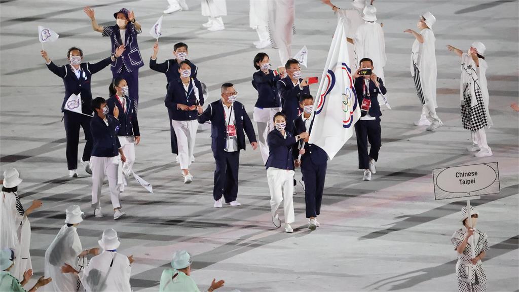 東奧/台灣隊第104順位進場!盧彥勳、郭婞淳共掌「榮耀之旗」超興奮