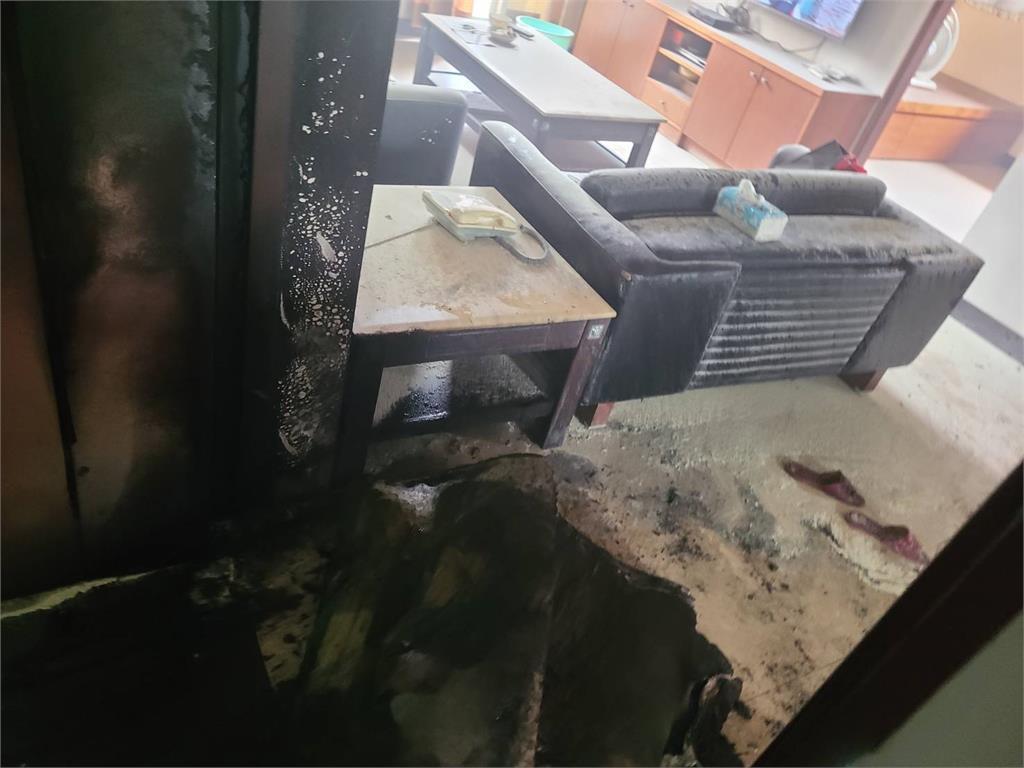 快新聞/台南老翁與家人爭執  持汽油赴兒住處縱火釀4傷