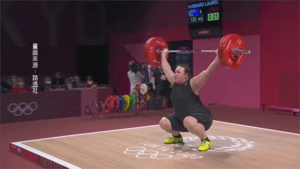 奧運首位變性選手 哈伯德舉重3次試舉失敗