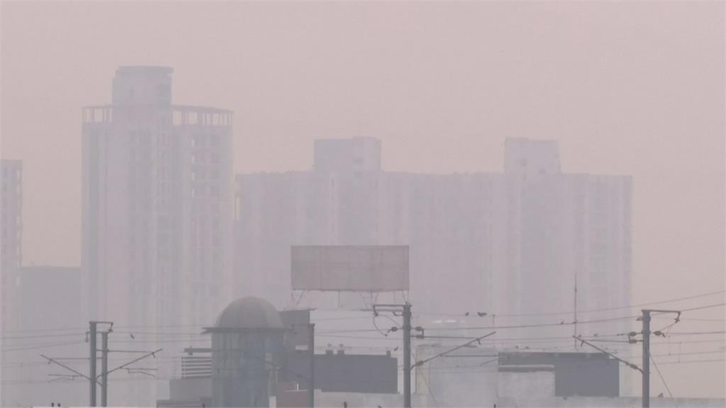 農民火耕空品惡化加劇 新德里「霧霾」不見天日