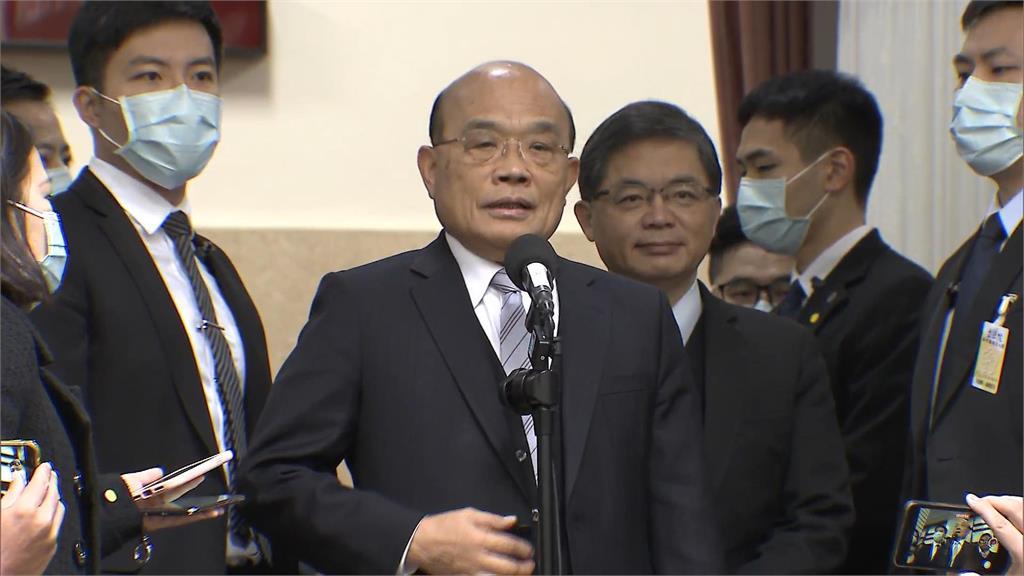 快新聞/回應內閣改組傳聞 蘇貞昌:總統跟行政院長最知道彼此辛苦