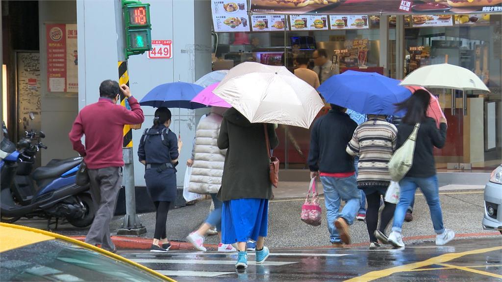 快新聞/北台今濕涼有雨! 寒流週四報到「急凍3天下探8°C」 高山可能降雪