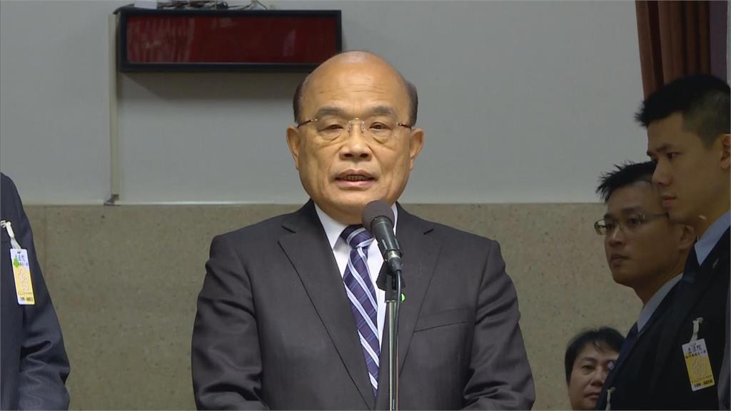 快新聞/56年來首次無颱風襲台「面臨缺水危機」 蘇貞昌:請支援省水!