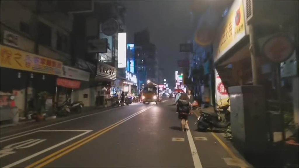 疑變電箱電纜故障爆炸 桃園中原夜市大停電!