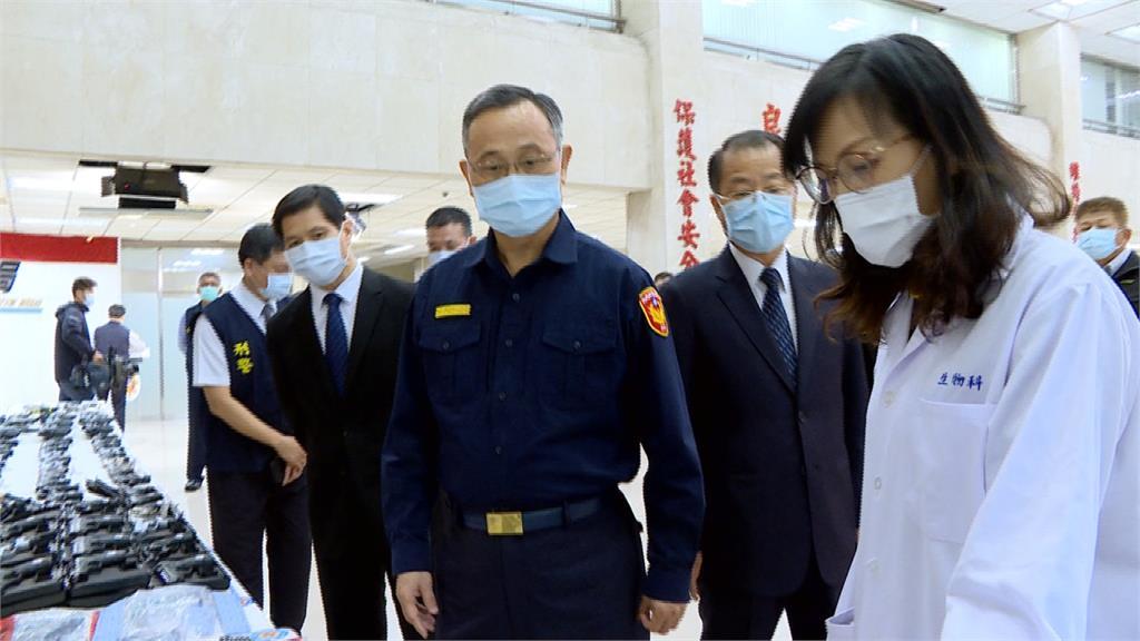 警政署掃蕩槍械 陳家欽:確保防疫、治安雙穩