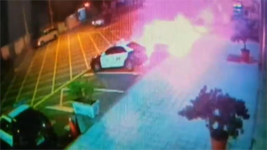 吸毒遭移送心生不滿 嫌犯竟在警局前潑油縱火