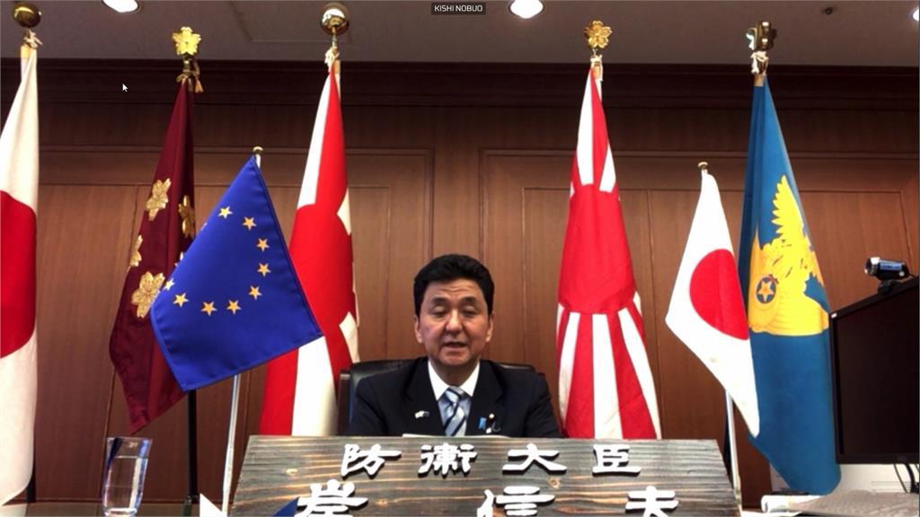 日防衛大臣重申台灣重要性 籲歐盟合力抗中