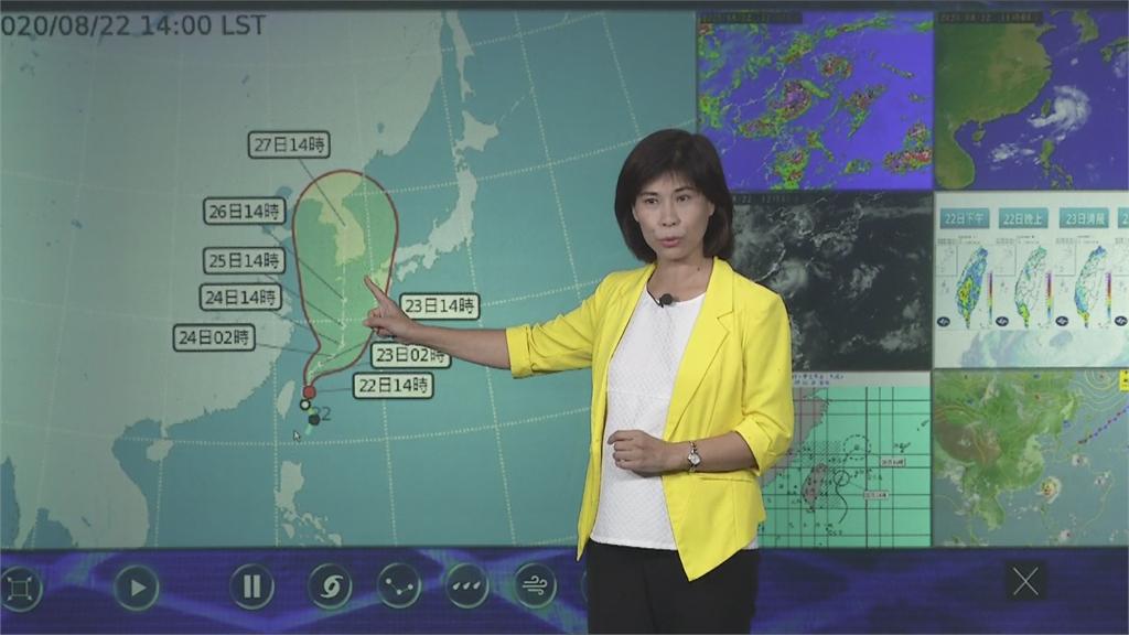 今天最接近台灣!巴威擦邊過 最快週日清晨解除海警