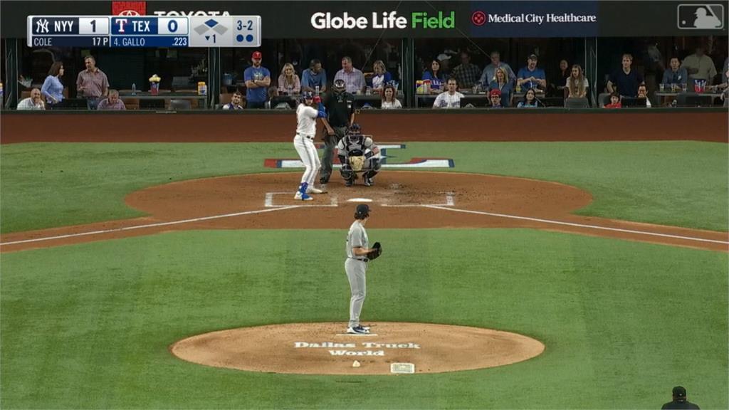 MLB/洋基隊王牌投手柯爾  締造「61K無保送」新紀錄