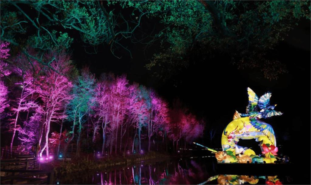 中秋連假到新竹光臨藝術節 城區每晚繽紛點燈