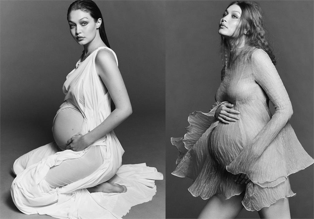 9月即將臨盆!超模Gigi Hadid秀唯美孕照