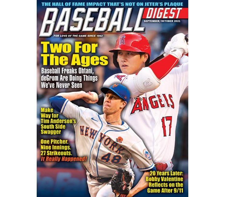 MLB/棒球文摘評大聯盟年度最佳球員 大谷翔平獲選