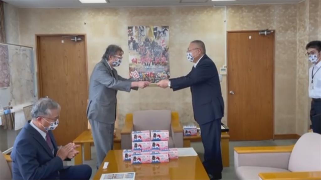 感謝日本三次捐疫苗 <em>醫師</em>募20萬片口罩回贈