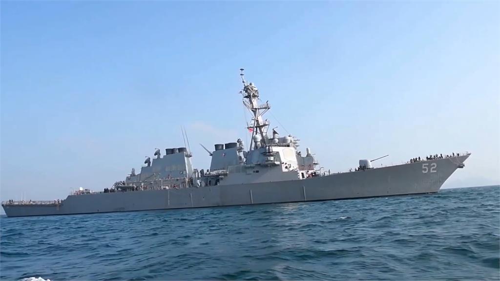 美艦十度通過台海 馬祖東引設飛彈基地