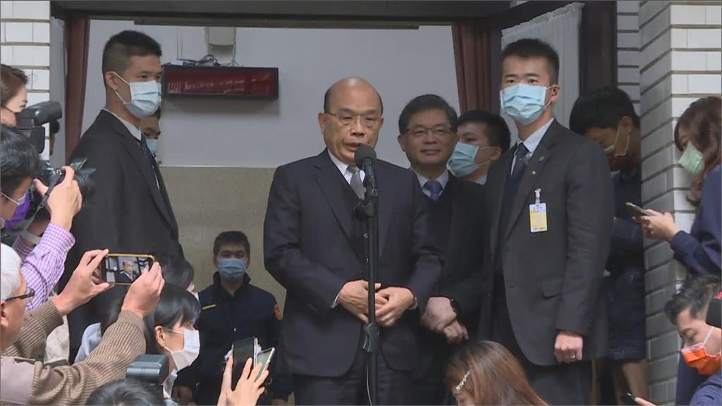快新聞/柯媽出招將社宅推給中央 蘇貞昌:政府已按部就班在做