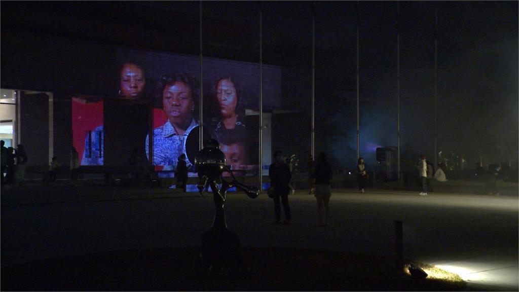 高美館修館8個月重啟 展出夜間限定投影作品