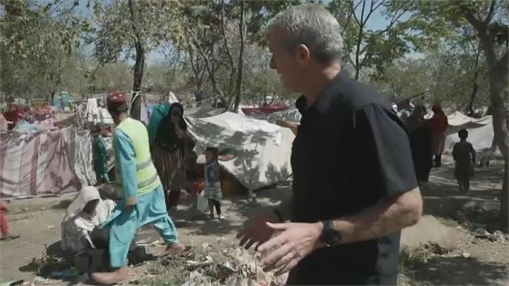 塔利班限制民眾提款金額 喀布爾湧現帳篷族流浪