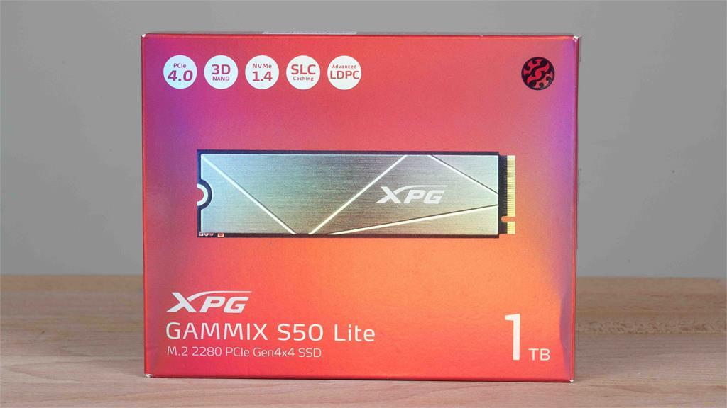 3C/用 PCIe 3.0 的價格買 PCIe 4.0 的 SSD?ADATA XPG GAMMIX S50 Lite 1TB