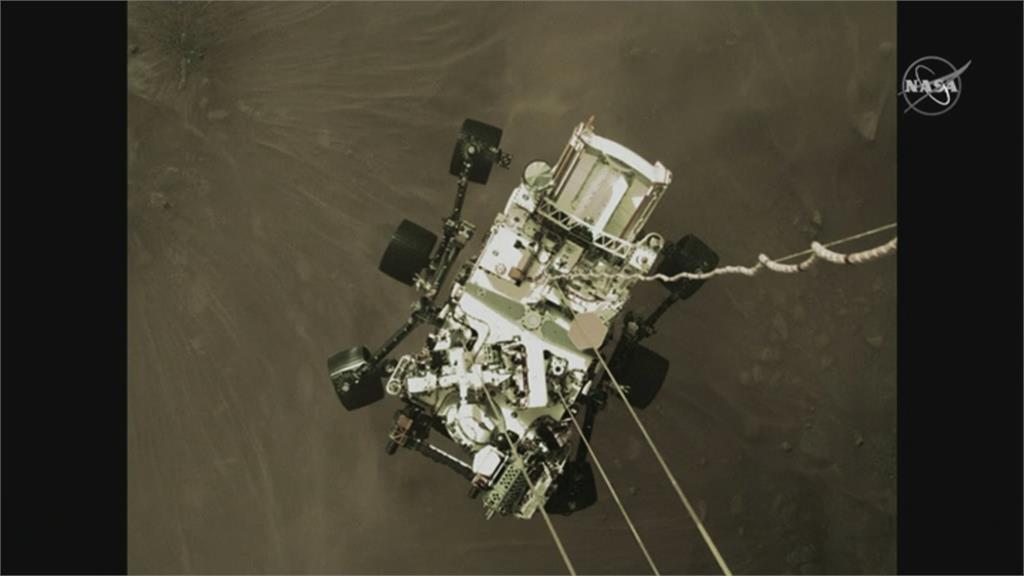 來自火星的照片!NASA「毅力號」成功登陸火星 回傳最新彩色照片