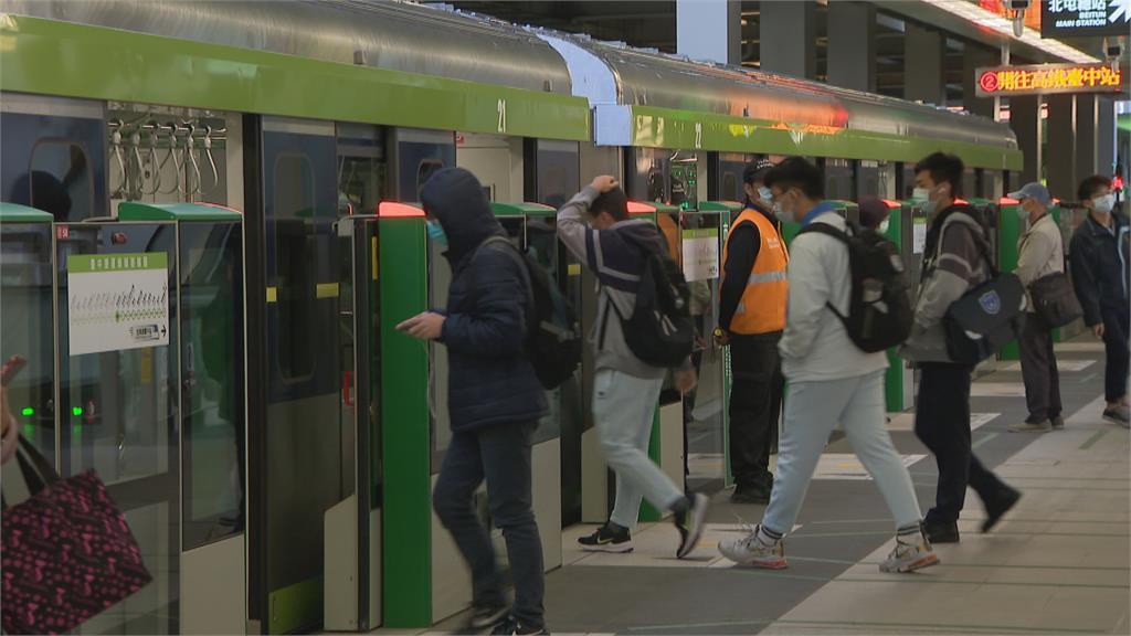 中捷綠線重啟試營運「一個月內免費搭」議員:市民信心仍不足