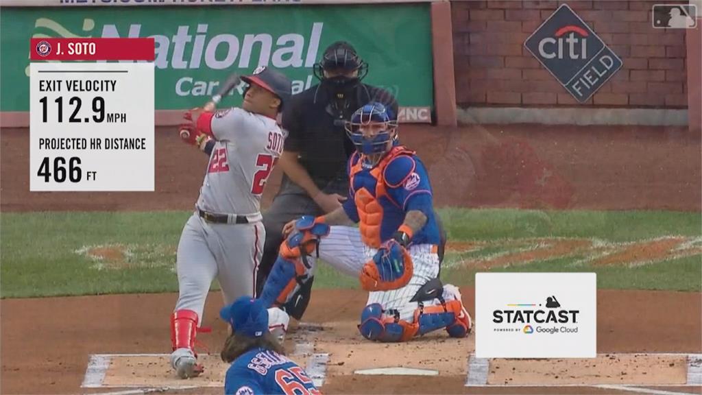MLB/全壘打轟到球消失 雙城重量級砲手沙諾發威