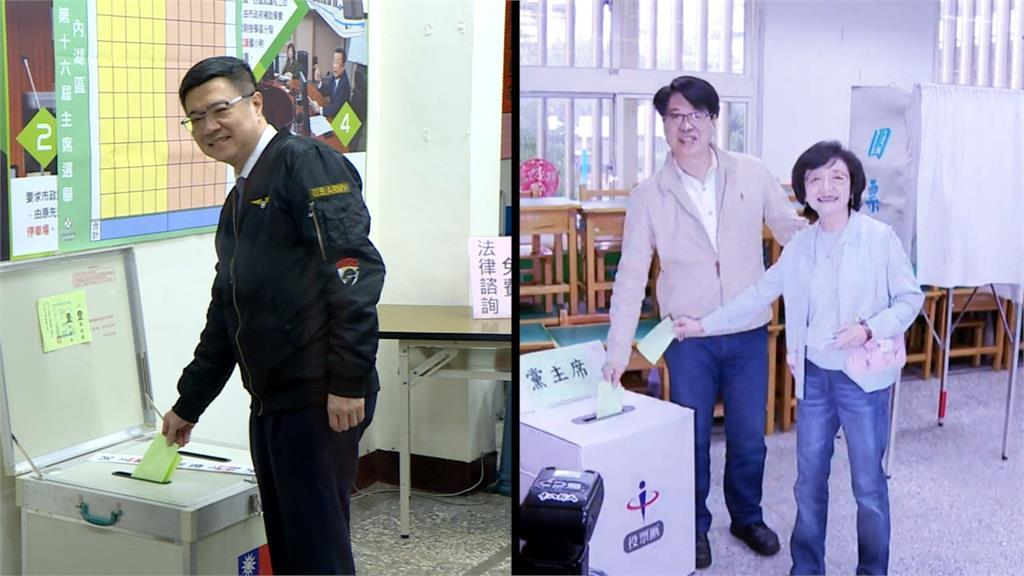 民進黨主席補選今登場  卓榮泰、游盈隆對決