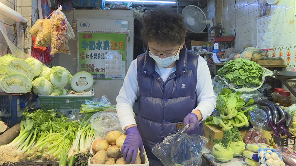 天冷蔬菜生長慢!高麗菜一顆破百 比去年同期貴4.96倍