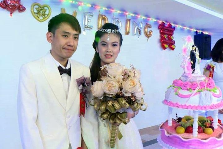 菲律賓移工「嫁」台灣郎 院方20萬幫辦婚禮!