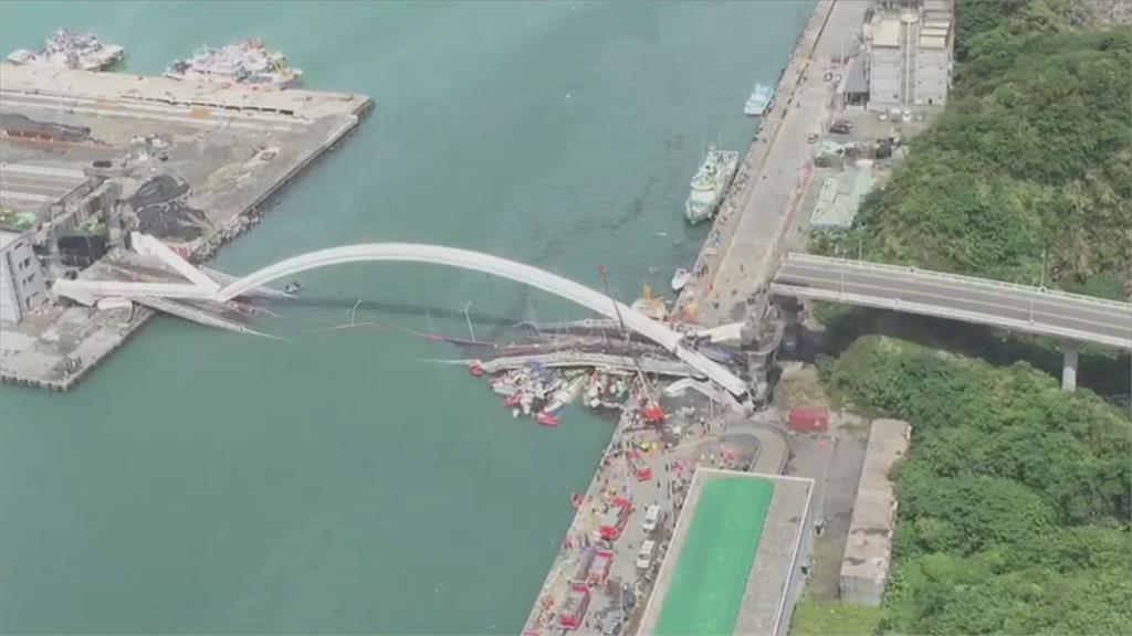 鋼索鏽蝕釀南方澳斷橋 林佳龍:體檢所有橋梁