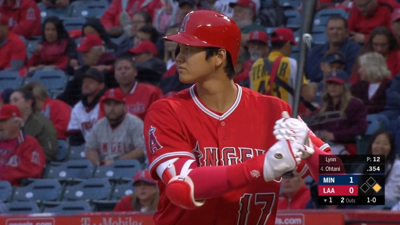 大谷翔平第四棒4打數敲1安 打擊率3成48