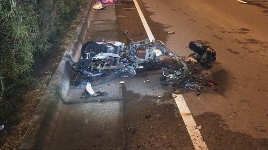 扯!不只酒駕還闖紅燈 三貼機車遭撞釀1死2傷悲劇