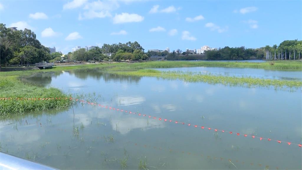鬆口氣!取高屏溪地面水挹注澄清湖 澄清湖蓄水率達93% 解除5月水情紅燈