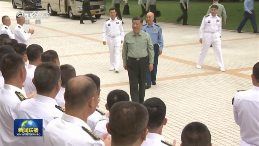 習近平今看影片視察中國海軍陸戰隊 強調備戰