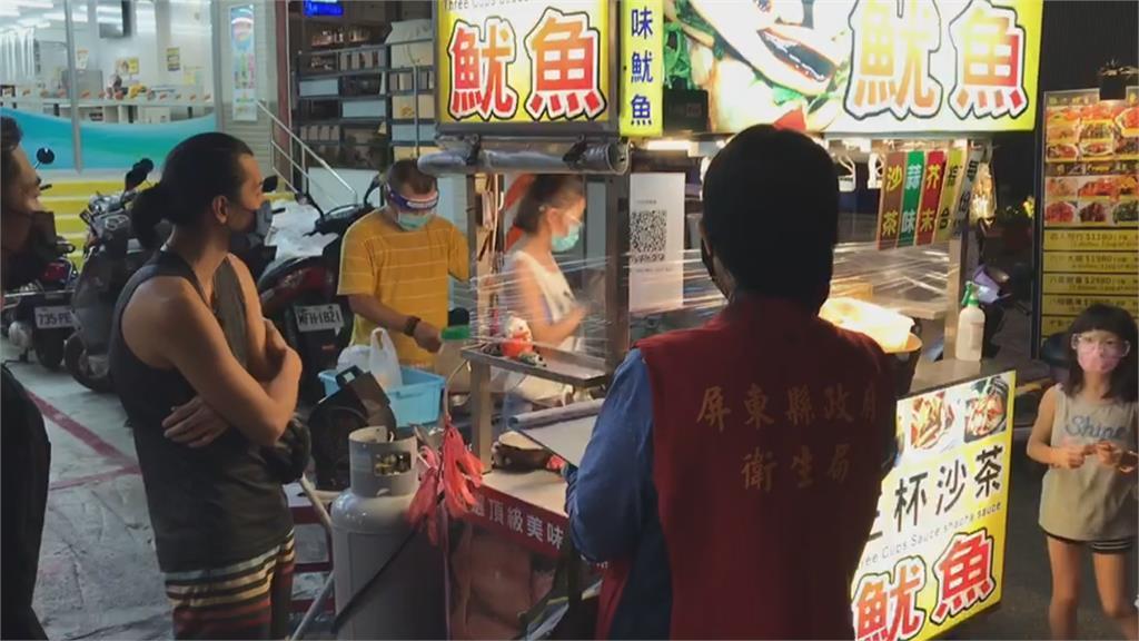 全國首創!墾丁大街攤商這樣做 積極展現防疫態度讓遊客安心