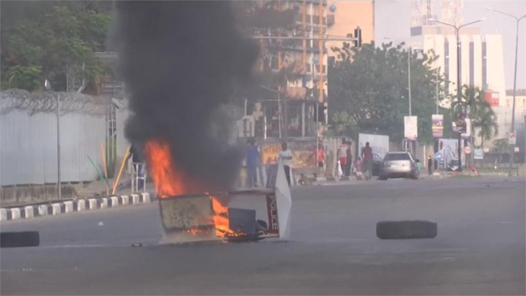 奈及利亞反警察示威 遭安全部隊開槍鎮壓