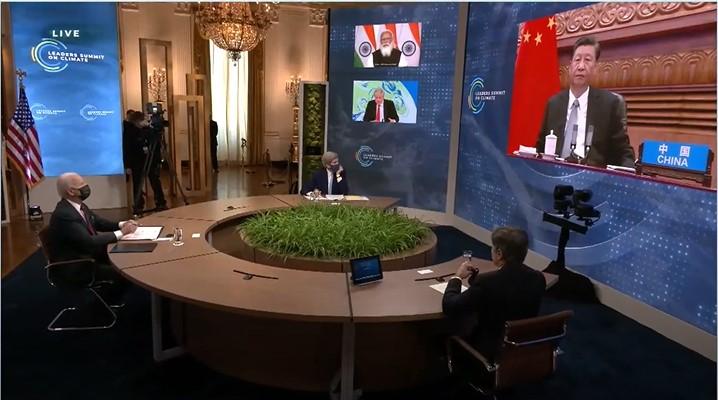快新聞/拜登習近平首度同框 中國稱減碳有效遭打臉