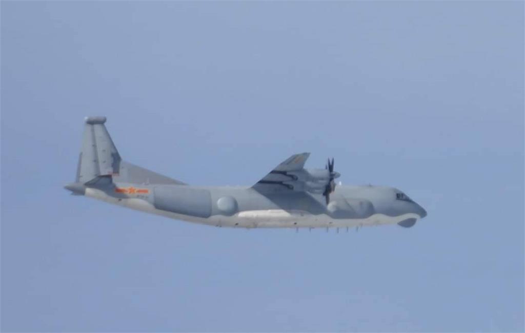 快新聞/共機又來! 1架「運9通信對抗機」進入我西南空域 空軍廣播驅離