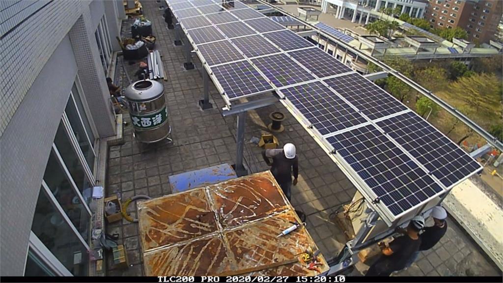 創南部縣市之先 台南議會裝528太陽能板