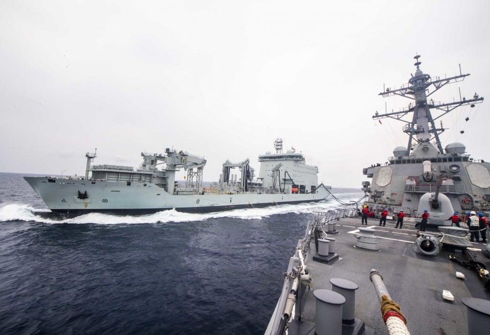 快新聞/拜登上任以來第2次! 美軍驅逐艦駛過台灣海峽 國防部證實