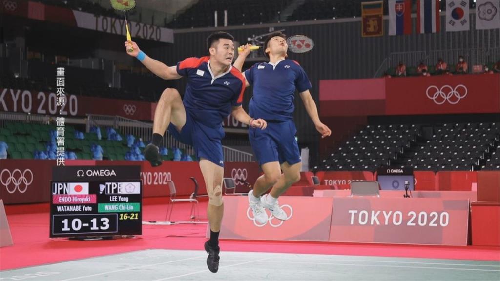 輸給台灣就是不行!? 央視切斷羽球男雙頒獎轉播
