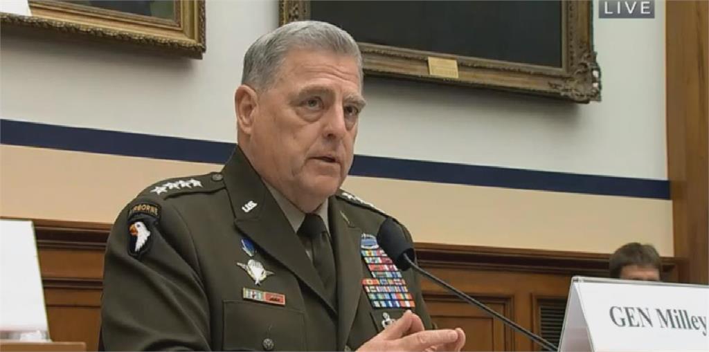 共軍何時犯台 美軍參謀首長:兩年內沒理由