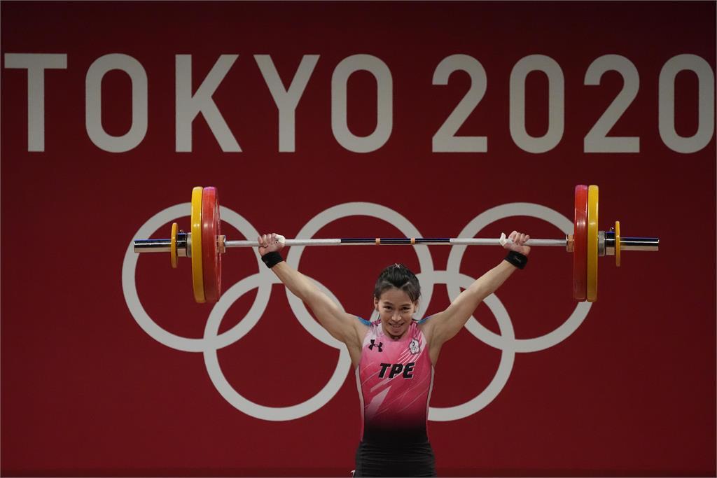 東奧/郭婞淳舉重總和236公斤創奧運紀錄 優雅表情秒圈粉