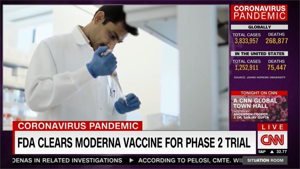 武肺疫苗有望年底前問世!美國3萬受試者進行最後人體試驗