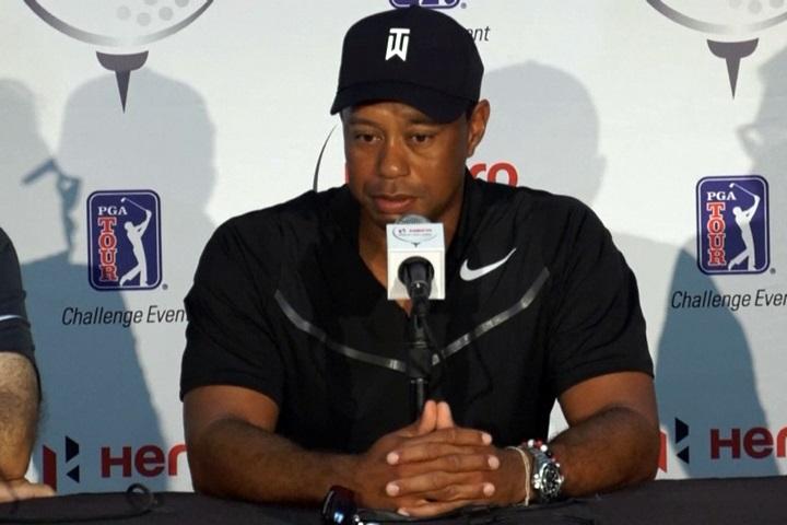 手術休養8個月 伍茲明復出PGA英雄挑戰賽