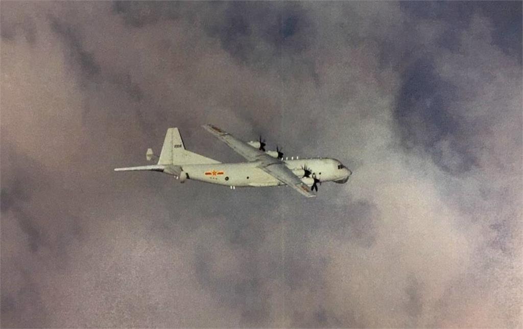 快新聞/中國軍機再擾台! 運8反潛機1架次闖我西南空域