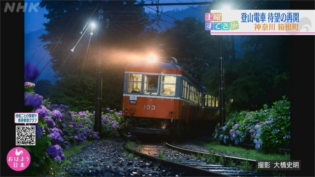 關東名湯 強颱重創朝聖路! 一年修復 箱根登山鐵道復駛