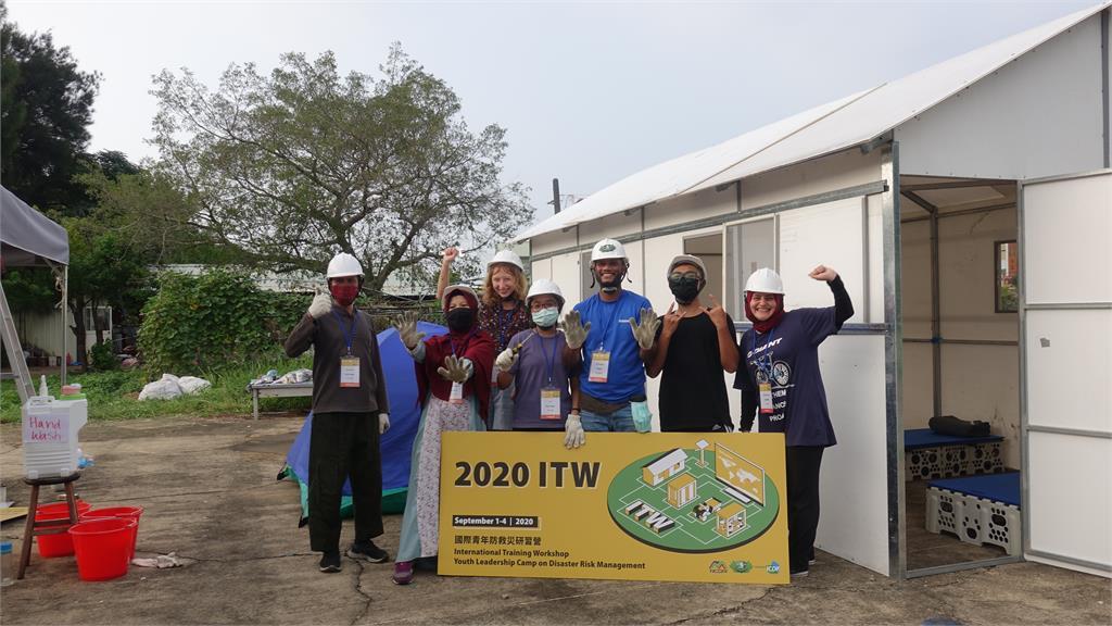 國際青年防救災研習 21國學員合作任務完成