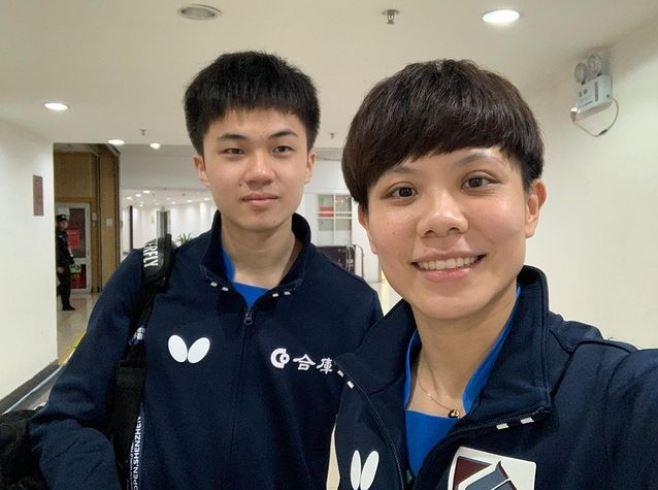 鄭怡靜、林昀儒手遊練默契 東奧桌球混雙盼奪牌