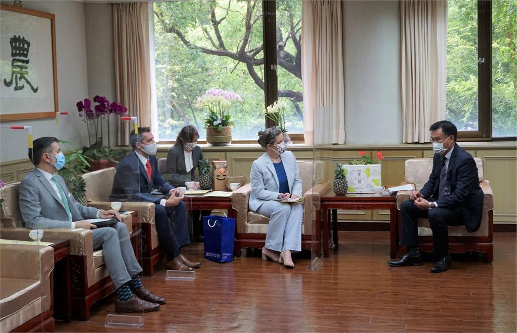 快新聞/AIT處長孫曉雅接連拜會各單位首長 重申「深化美台夥伴關係」承諾